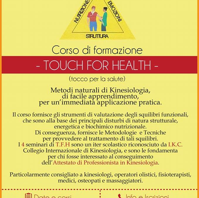 AICS Touch for Health kiniesologia
