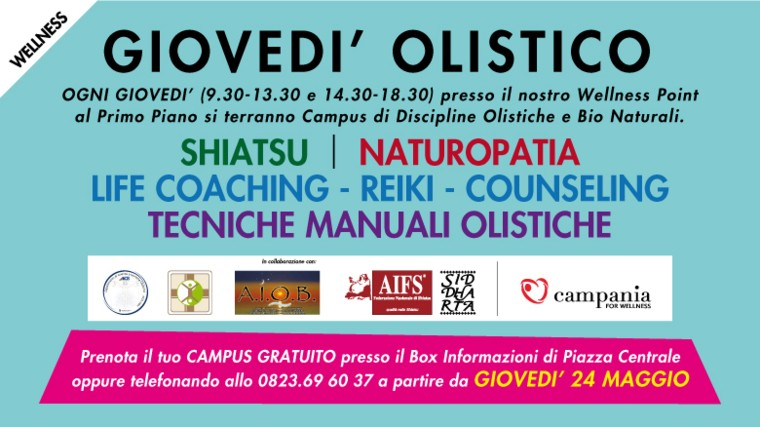 Campus Olistico Centro commerciale Campania AICS
