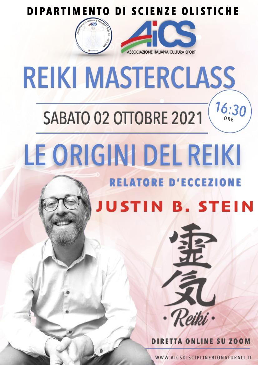 Aics Dsto Reiki masterclass Justin Stein