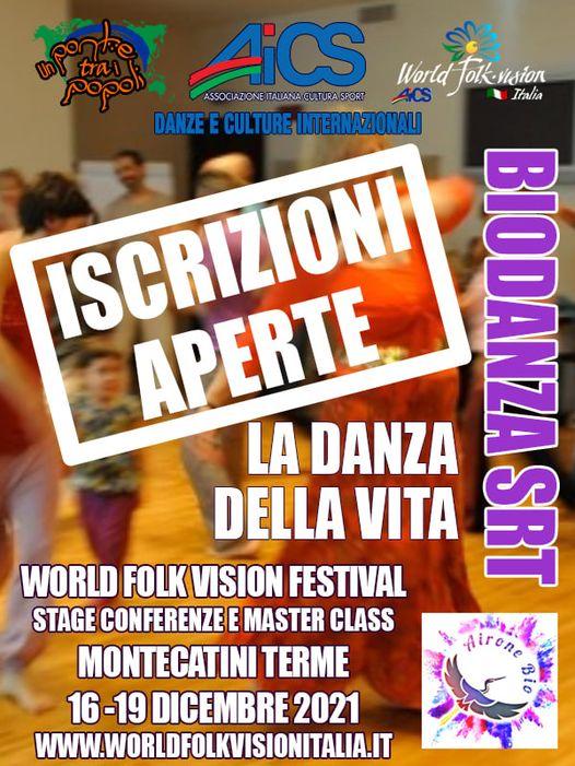 WORLD FOLK VISION FESTIVAL - AICS - BIODANZA